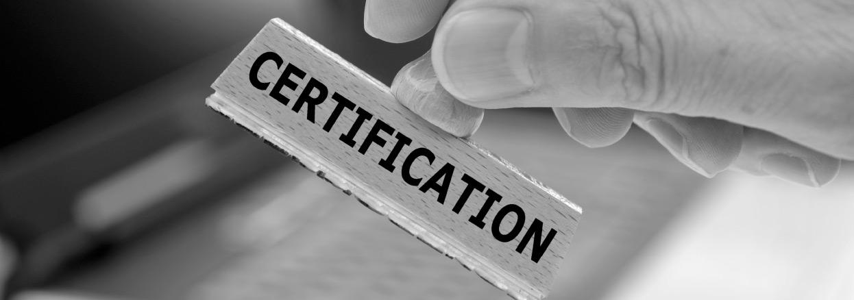 Qualifikationen und Zertifikate von Ibass
